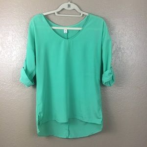 Old navy blouse size small patite